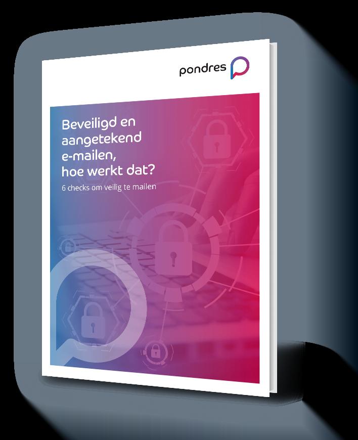 Beveiligd en aangetekend e-mailen, hoe werkt dat?